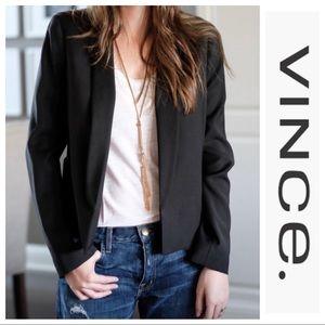 VINCE. | Wool Open front Blazer